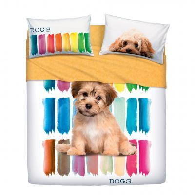 COLOR DOGS COMPLETO LENZUOLA